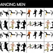 Various dance moves — Stock Photo #1678496