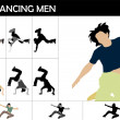 Cool dancers — Stock Photo