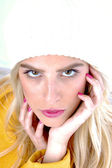 Close up of gorgeous young model — Stock Photo