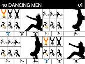 Mężczyźni rozciąganie nogi — Zdjęcie stockowe