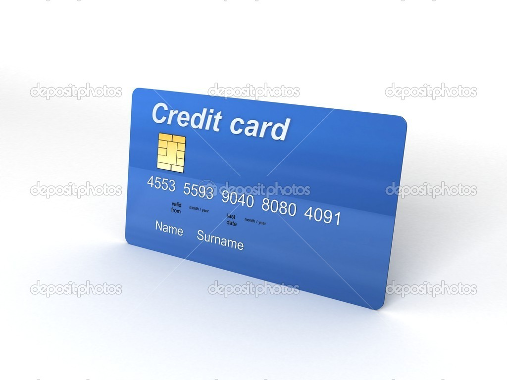 Deposit credit card