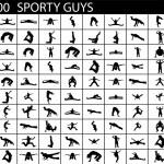 Posing sports men — Stock Photo #1692502