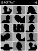 Poserar unga män — Stockfoto