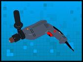 Drill-maschine — Stockfoto
