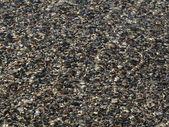Shingles on Seaside — Stock Photo