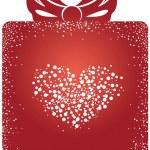Sevgililer hediye kutusu — Stok Vektör