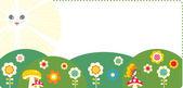 卡通夏季 — 图库矢量图片