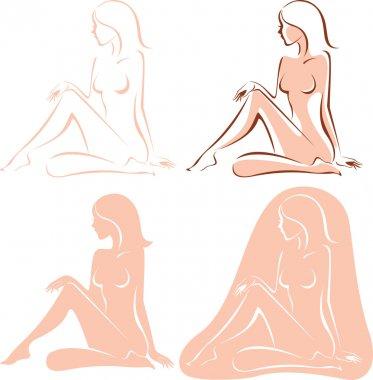 Beautiful nude woman