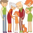 Family - Imagens vectoriais em stock