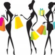 Vector de stock : Shopping