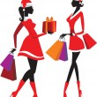 Royalty-Free Stock Immagine Vettoriale: Shopping