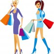 Shopping — Stock Vector #2483323