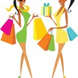 Shopping — Stock Vector