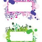 Decorative frames — Stock Vector #1347186