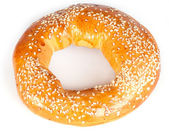 Bagel with sesame — Stock Photo