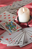 Fortunetelling cards — Stock Photo