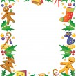 Christmas frame — Stock Vector #1493429
