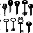 Keys — Stockvektor #2512853