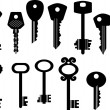 Keys — Vettoriali Stock