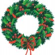 Christmas wreath — Stock Vector #2599085