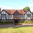 Stock Photo: British Tudor Home