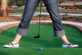 Adventure Golf — Stock Photo