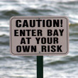 Caution Sign — Stock Photo #1389901