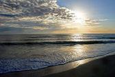 迷人的日落 — 图库照片