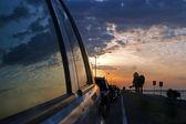 Car Reflection — Stock Photo