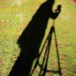 Photographer Shadow — Stock Photo