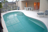 Pool and Lanai — Stock Photo