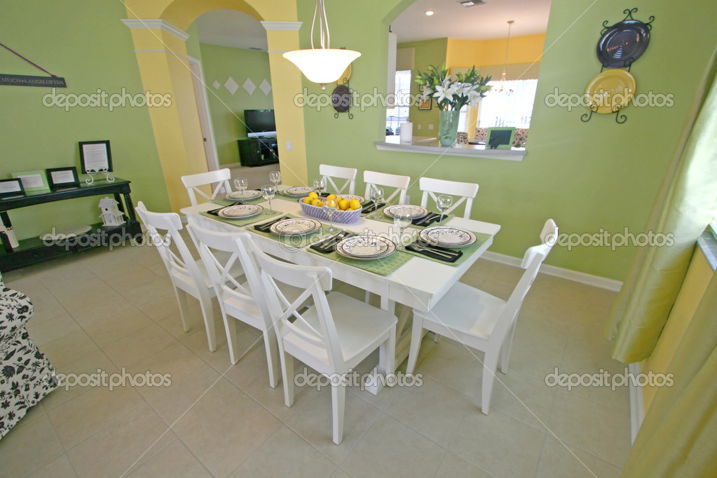 A Dining Room in a House in Florida. — Stock Photo #1399682