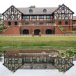 Tudor House Reflections — Stock Photo