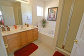 Master Bathroom — Stockfoto