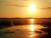 Puesta de sol — Foto de Stock