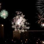 New year's night — 图库照片