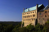 The fortress of Wartburg — Stock Photo