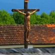 Stock Photo: Wood crucifix in Austria