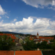Stock Photo: View of Cesky Krumlov, Czech Republic