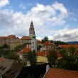 View of Cesky Krumlov, Czech Republic - Stock Photo