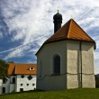 Little Church in Bad Tolz — Stock Photo