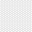 Hexagon pattern - Stock Photo