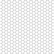 Stock Photo: Hexagon pattern