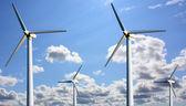ветер электростанция — Стоковое фото