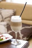 Coffee latte macchiato — Stock Photo