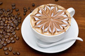 Coffee cappuccino — Stockfoto