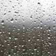 Rain drops on a window — Stock Photo