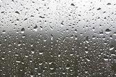 Rain drops on a window — Stock Photo