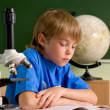 Small boy in classroom — Stock Photo #1437451