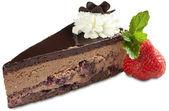 Beautiful chocolate cake — Stock Photo